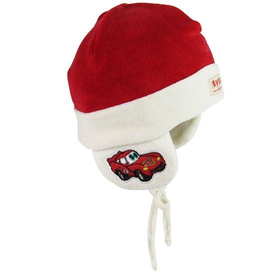 Touca-Carros-E-6034A EVERLY Touca Bebê Masculina Plush Vermelha ... a62093a8815