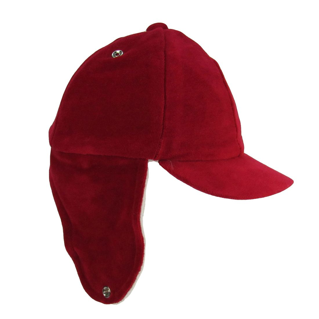 Boné Bebê Masculino Plush Vermelho e Branco - poetique ed265b2ab74