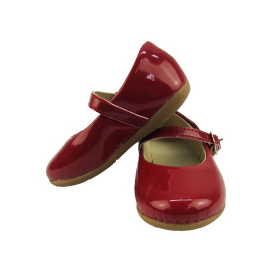 4ddfd44d6e Sapatilha-Vermelha-MB-2920015a MARKHA BABY Sapatilha Bebê Feminina Vermelha