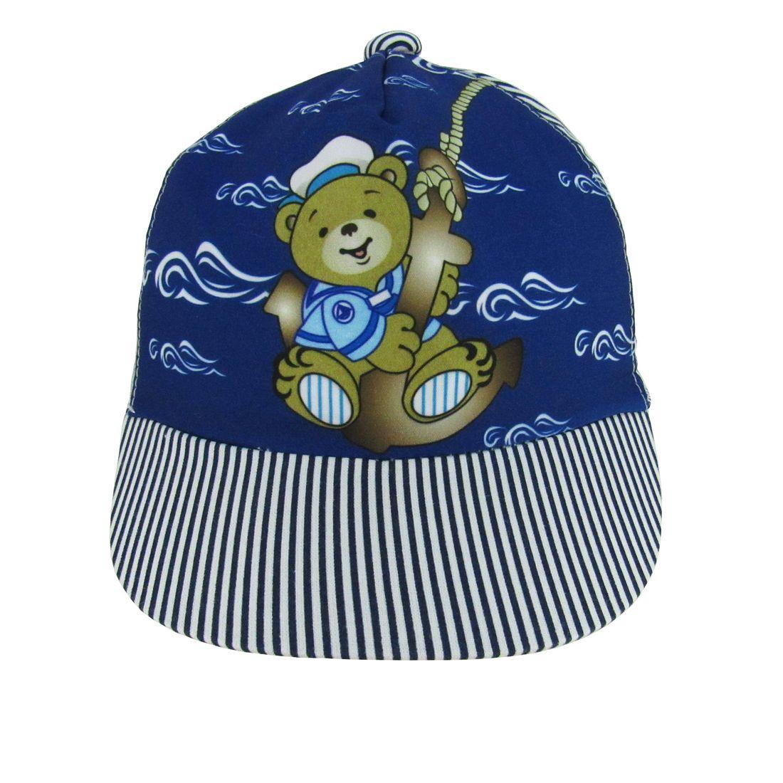 Boné Bebê Masculino Azul Marinho Marinheiro - poetique 181c39a0f82