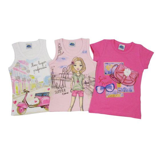 BIB-004-Kit-Blusa-Feminina-Branca-Rosa-Pinka