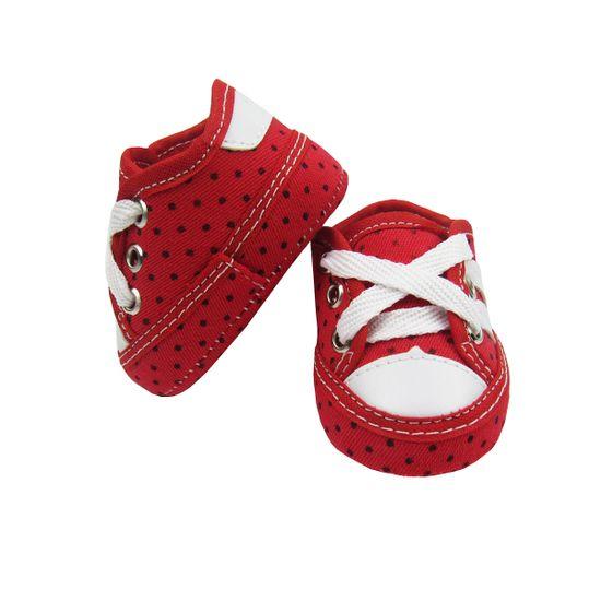 Tenis-Bebe-Feminino-Vermelho-Poas-Cadarco-MB-T45a