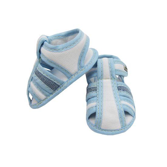 Sandalia-Bebe-Masculina-Branca-Azul-Claro-Velcro-MB-101035a