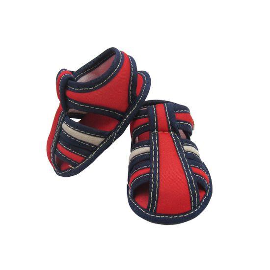 Sandalia-Bebe-Masculina-Vermelha-Velcro-MB-101032a