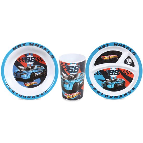 Kit-Alimentacao-Masculino-Pratos-Copo-Hot-Wheels-BG-01703a