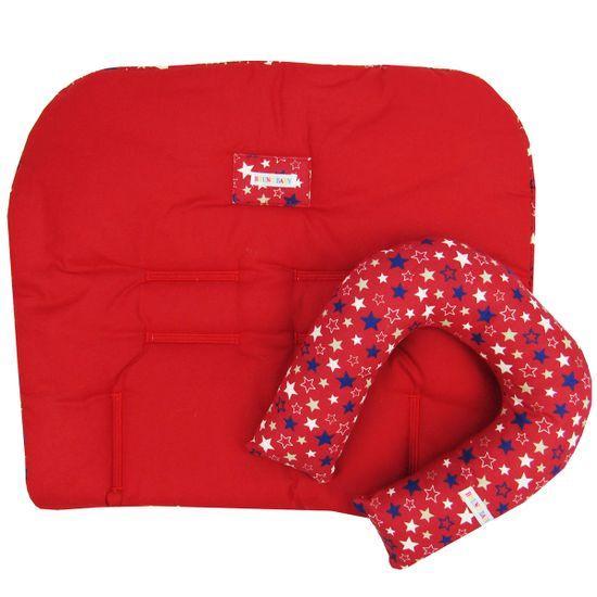 Colchonete-e-Protetor-de--Pescoco-Unissex-Vermelho-BB-630aa