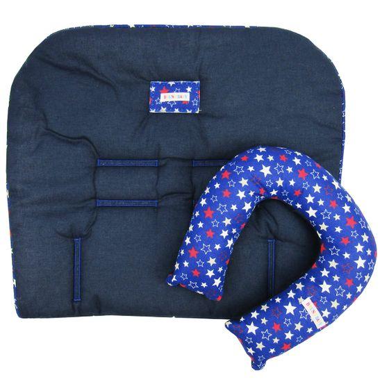 Colchonete-e-Protetor-de--Pescoco-Unissex-Azul-Marinho-BB-630ba
