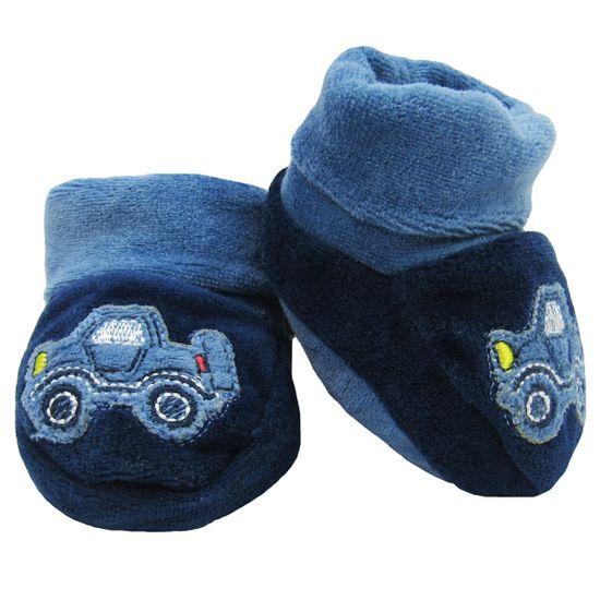 Sapatinho-bebe-Masculino-Plush-Azul-Marinho-E-9810a