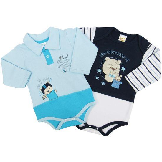 Body-Bebe-Masculino-Manga-Longa-Azul-Claro-Azul-Marinho-Kit-com-2-Unidades-PP9488ba