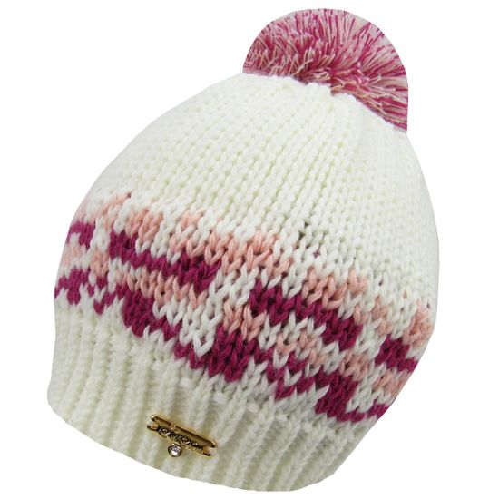 Touca-Feminina-Infantil-Creme-Pink-E-8125a