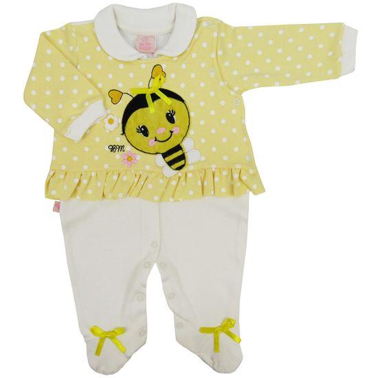 Macacao-Bebe-Feminino-com-Pe-Abelha-Amarelo-BM-5975a