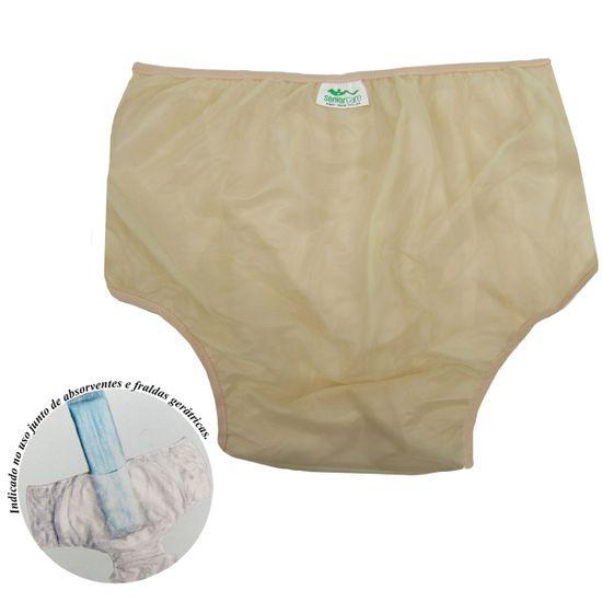 Calca-Plastica-Adulto-Sem-Botao-Luxo-Bege-SC-013121aa