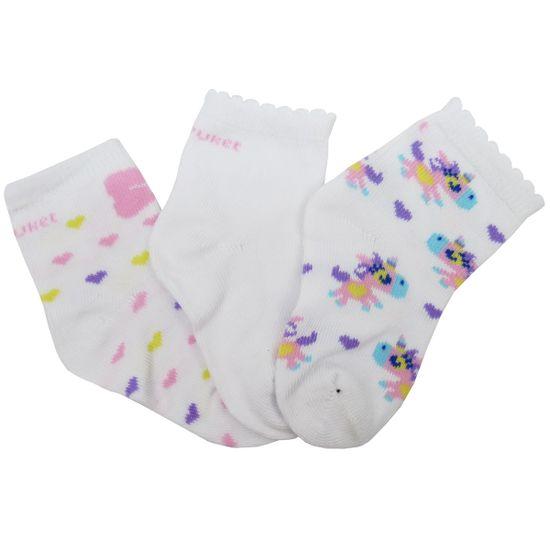 Meia-Puket-Feminina-Bebe-Estampada-Branca-Lilas-Kit-com-3-UnidadesP-010202363a