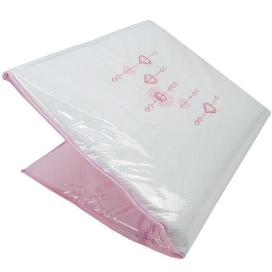 Trocador-e-Colchonete-Feminino-Rosa-Branco-Coroa-P-2687ba