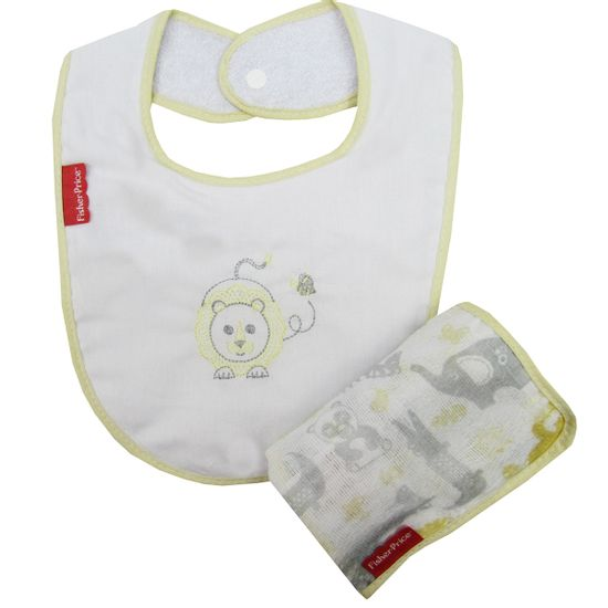 Kit-Mimo-Papai-Babao-Fisher-Price-Unissex-Amarelo-I-30031605010003a