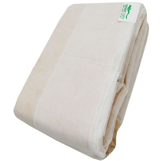 Protetor-para-Colchao-Caixa-de-Ovo-Siliconizado-Solteiro-Bege-SC-13221a