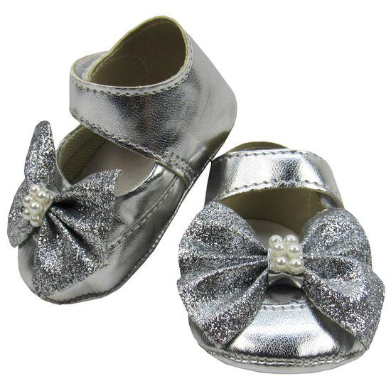 Sapato-Bebe-Feminino-Prata-com-Perolas-Mb-202031a