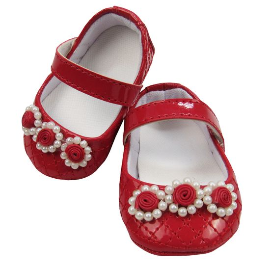 Sapato-Bebe-Feminino-Matelasse-Vermelho-Mb-207017a