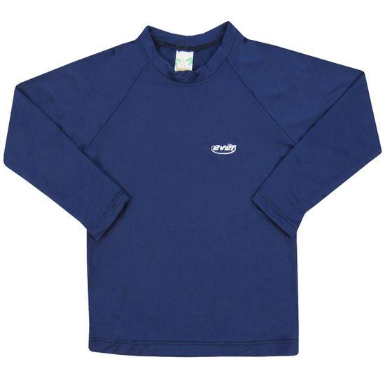 camiseta-Inafantil-manga-Longa-Masculina-Azul-marinho-Protecao-E-6655aa