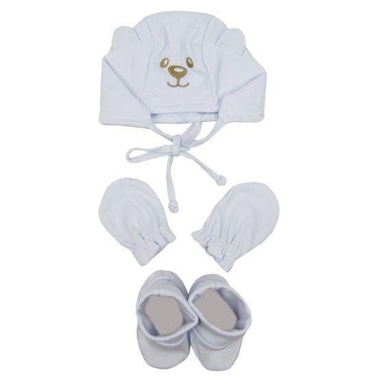 Kit-Bebe-Unissex-Touca-Luvas-Sapatos-Branco-E-1610aa
