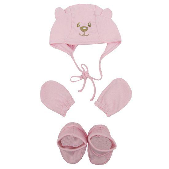 Kit-Bebe-Feminino-Touca-Luvas-Sapatos-Rosa-E-1610ca