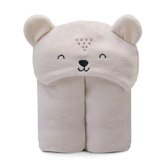 Cobertor-com-Capuz-para-Bebe-Microfibra-Creme-P-5310c