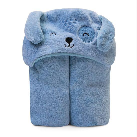 Cobertor-com-Capuz-para-Bebe-Microfibra-Azul-P-5310c