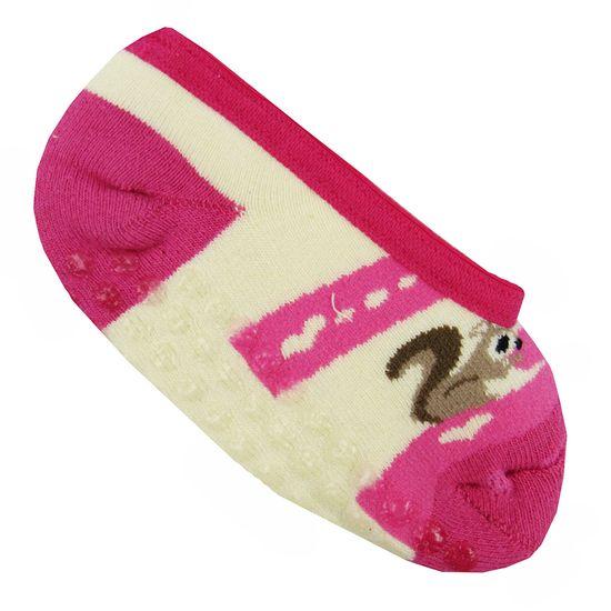 Meia-Infantil-com-Antiderrapante-Feminina-Pink-Creme-W-178.027aa