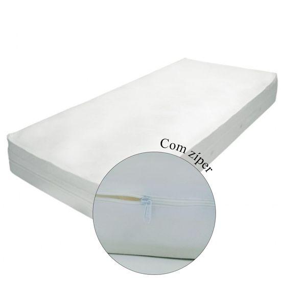 Protetor-para-Colchao-Solteiro-Siliconizado-Branco-com-Ziper-SC-14522a
