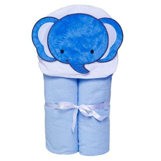Toalha-Bebe-com-Capuz-e-Forrada-com-Fralda-Masculino-Elefante-Azul